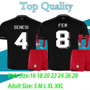 adult and kids 20 21 Feyenoord soccer jersey KOKCU football BERGHUIS Camiseta de futbol camiseta de fútbol 2020 2021 SENESI maillot foot