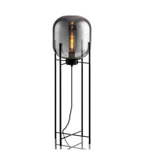 Nordic postmodern Stehlampe rauchgrau Glas vier Lampen Schlafzimmer Stativ Wohnzimmer Studie Dekoration Lampen E27 Nachttischlampe