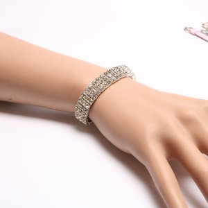2019 New Fashion New Women's Fashion Retro Vintage Noble Exquisite Rhinestone Shining Bracelet Woman Gifts
