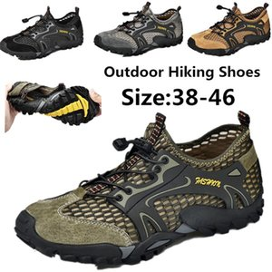 Walking shoes wear-resistant 2019 men's outdoor wading shoes