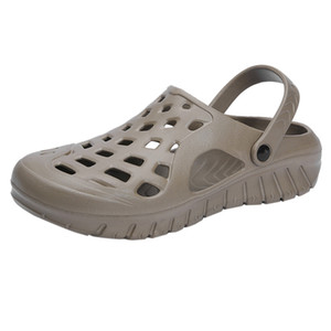 Vogue Uomo Sandali estate Scarpe Uomo traspirante ambulanti degli uomini Beach Sports pantofole all'aperto \ x27s scarpe Baotou Mezza vassoio 18Apl23