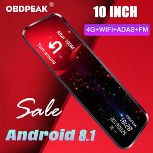 OBDPEAK A980 ADAS 4G Android8.1 auto DVRS retrovisore della macchina fotografica specchio Dash WiFi FM GPS Bluetooth 2GB 1080P Registrator Auto dash cam