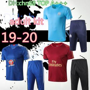 2020 Dortmund Tottenhames real madrid Argentina survêtement futebol mangas curtas 3/4 calças treino de futebol de formação camisa kit set chandal
