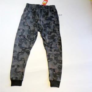 Erkek tasarımcı parça pantolon rahat tarzı çapa satmak erkek kamuflaj joggers pantolon pantolon pantolon kargo pantolon pantolon elastik bel harem erkekler