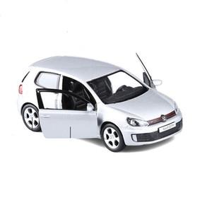 Yüksek simülasyon golf GTI, 1: 36 ölçek alaşım çekme geri araba oyuncak, döküm metal model araçlar, toplama modeli oyuncak, ücretsiz kargo Y200318