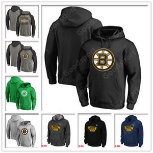 2019 HOODIES camisetas de hockey Boston Zdeno Chara Jersey Patrice Brad Marchand David Pastrňák Bobby Orr Charlie McAvoy Patrice Bergeron