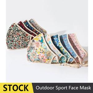 EPACK Imprimer Masque Party Designer Masques Noir BlingBling PM2,5 Bouche Anti-poussière lavable Reusble Masques de protection coton visage