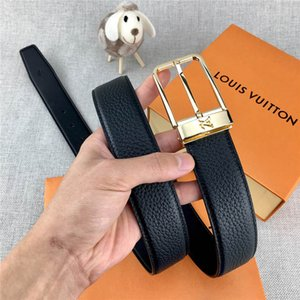 Fashion designer belt luxury high quality fashion brand belt fashion metal buckle 2020 latest width 3.4 cm best-selling 00068