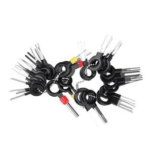 38PC Cosse Outil de suppression de voiture électrique Câblage des broches du connecteur Crimp Kit Terminal Remover Retour aiguille Retirez Tool Kit