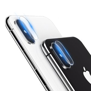 Camera Lens Tempered Glass Clear Screen Protector Film For iPhone XS Max XR X 8 7 Plus Samsung Galaxy S10 E 5G M10 M20 M30 A10 A20 A30 A40