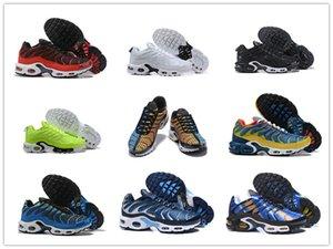 Özel Satış TN AYAKKABI Yeni Yüksek Kalite HAVA TN Erkek Nefes Mesh Casual Ayakkabı Casual Sneaker Koşu Homme TN Requin Lüks dizayn