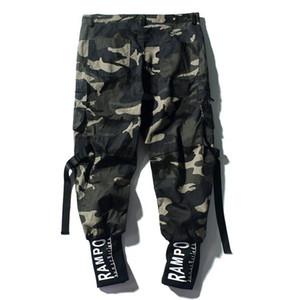 Yeni erkek kamuflaj ışın pantolon Japon tarzı gelgit marka tulum gevşek ins gündelik pantolon Kore versiyonu trendi erkek