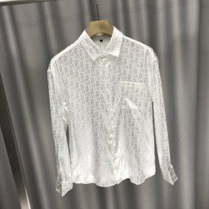 20ss Frühling Sommer neuestes LETTER Jacquard Druckhemd Art und Weise oben atmungs unisex bequemes schönes heißes Baumwolle-Mischung T-Shirt