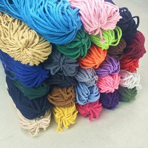 New Eco-Friendly 100% Cotton 7mm Cord High Tenacity Twisted Rope Thread DIY Craft Woven String Home Textile Craft Home Decor