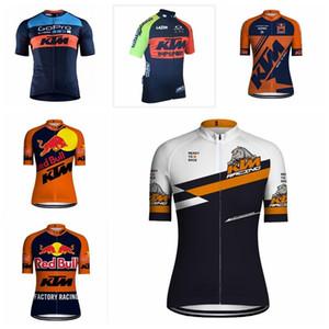 2019 ktm sommer radfahren trikot männer schnell trocken kurzarm radfahren shirt mountainbike tops fahrrad kleidung maillot ciclismo k012819