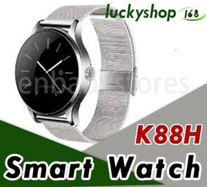 Smart Watch For K88h Iphone X Ios Android Heart Rate Monitor Watch 1.22 Inch Ips Round Screen Bluetooth Samsung Smartwatch