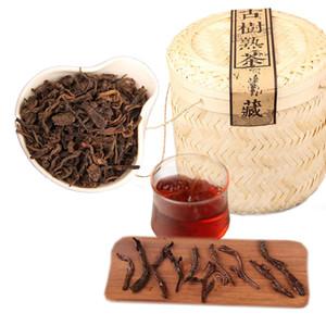 A granel 800g de Yunnan Puer maduro antiguo árbol de té fermentado Puer hermoso palo de bambú primavera té de Puer Cocido Preferencia