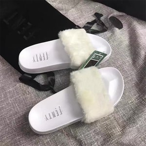 High12 Women Mink Slippers Causal Slippers Wool Household Slippers Tian Blooms Start Print Slide Sandals Unisex Indoor Beach Flip Flops#778