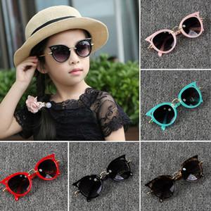 2019 Crianças Meninos Meninas Moda Óculos De Sol De Férias UV400 Óculos De Proteção Ao Ar Livre