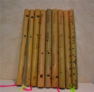 Frete grátis Característica Artesanato Xiao Instrumento Musical de Bambu Xiao Brinquedo Curto instrumento Musical Xiao uma flauta de bambu vertical crianças