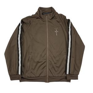 Mens Designer Giacche Travis Scott ricamo Sport maglione cappotto del rivestimento di pallacanestro di modo di marca High Street casuale Outwear