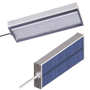 Super brillante Sensor solar 48 Lámpara LED 800LM Resaltar Luz de pared de seguridad al aire libre impermeable por Microondas Radar Movimiento