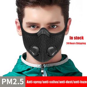 Karbon Açık Faaliyetleri Karşıtı Sprey Maske Aktif 2020 Sıcak Satış, Anti-Tükürük, Anti-Toz, Anti- Haze PM2.5 Yüz Maskesi
