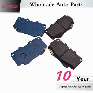 CAPQX Front (Disc Brake) Pads Kit OEM:04465-0K020 04465-0K140 For FORTUNER ,HILUX VIGO 2005 2006 2007 2008 2009 2010 2011 2012