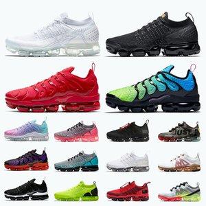 2020 nike air vapormax plus 2019 air max tn plus zapatillas de correr para mujer para hombre triple blanco negro rojo aurora verde zapatillas de deporte para hombre