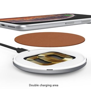 Best quality wireless charger.Fast Wireless Charger Mobile Phone Charging Pad 10W Aluminium Qi Wireless Charger For All Mobile Phones