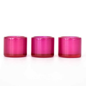 JCVAP Außendurchmesser 19mm Ruby-Insert Cup Thick Banger Bowls für 25mm 30mm XL Domeless Quartz Banger Thermal Nägel Bohrinsel