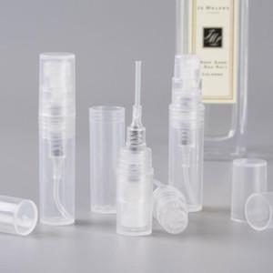 Sale Hot 1000pcs / lot 2ml Plastic Perfume Bottles Empty Refable Spray Bottle Bottle, Small Perfume Sample Vials In Stocks LX1541