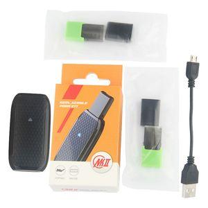 1pcs MK II 350 mAh Vape Pen Akku mit 1 ml Leere Hülsen Cartridge Starter Kit passen Juul Vape Batterie Geräte Cartridge