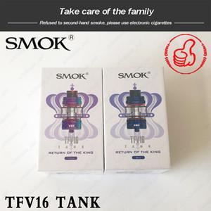 Auténtica SMOK TFV16 tanque 9 ml enorme e-jugo de capacidad superior que rellena TFV16 malla bobina 0.17ohm de doble bobina de malla 0.12ohm VS TFV12 PRINCE