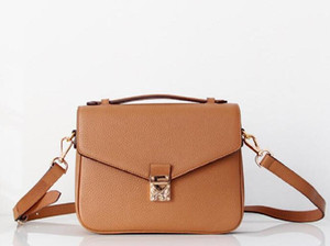 2019 Бесплатная доставка высокого качества женщин сумка кожаные женские сумки плеча мешки Crossbody сумки M40780