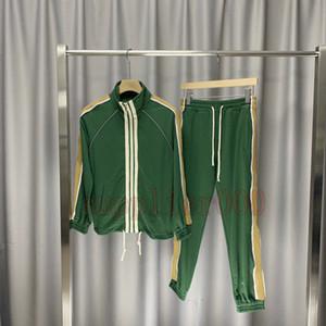 20SS nouvelle veste d'impression lettre mens de luxe Europe Mode vestes pour hommes Designer des femmes des Survêtement Casual Pantalons Outwear Fitness costumes du sport