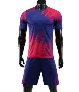 barato hombres personalizada de fútbol yakuda ejercicio de entrenamiento de la aptitud uniforme Jersey jerseys del fútbol con pantalón corto de entrenamiento personalizado Equipo jerseys Pantalones cortos