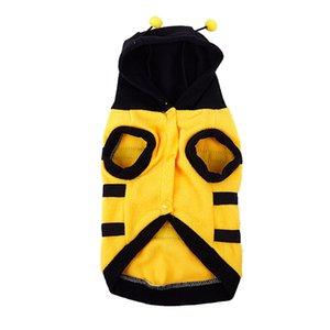 Nova Dress up Brasão Roupa Pet Vestuário M Costume Bumblebee Bee Dog Doogie