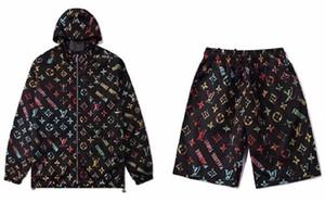 2020 New mens designer tracksuits Set Fashion mens tracksuit Sports Suit Letter printing Slim jacket Clothing designer tracksuits