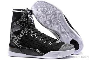 Mamba 9 IX Mens High Weaving BHM / Пасха / Рождество дешевые продажи 9s Мужские носки обувь баскетбольная обувь