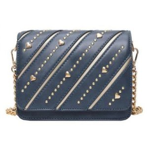 PU Leather Messenger Bag Women Shoulder Messenger Bag Women Chain Handbags and Purses