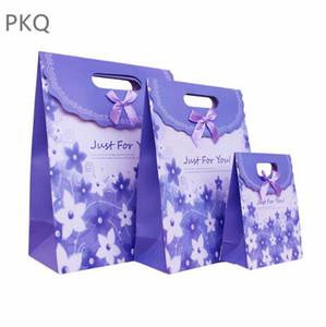 Sap Kraft Kağıt Torba Düğün Favor Şeker Parti ile 20pcs Çiçek Hediye Kutusu Ekmek Çerezler Packaging Bags Favor
