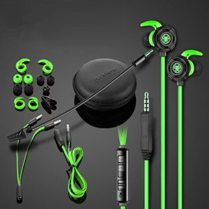 PLEXTONE G20 In ear Earphones Stereo Earbuds Gaming Headsets Noise Canceling With Mic With retail box PK Razer Hammerhead Pro V2