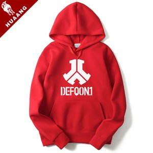 New europeus e americanos estilo Jaquetas Moda Coats Marca Felpa Defqon.1 Rock Band Men Hoodies Hip Hop Casual Mens hoodies camisolas