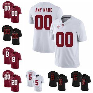 Stanford Cardinal Koleji Futbol Jersey NCAA 86 Zach Ertz Jersey Doug Baldwin John Elway Ty Montgomery David DeCastro Özel Dikişli