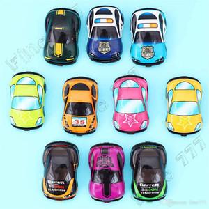 Brinquedos dos desenhos animados Plástico bonito Pull Voltar Cars Toy Modelo personalidade Carros Mini carro modelo Funny Kids Brinquedos para meninos das meninas