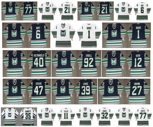 Vintage Hartford Whalers Jerseys 39 KELLY CHAS 6 Burt 1 SEAN BURKE 40 pietrangelo 92 Jeff O'Neill 12 TIM KERR 47 Giguere 27 BROWN CCM hockey