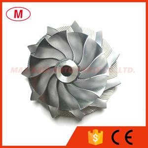 GT15-25 38.62 / 52.00mm 11 + 0 lâminas de Alto Desempenho Turbo Billet Compressor de roda / Alumínio2618 / Point Fresagem comprssor roda