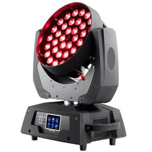 di trasporto di alta qualità 36x18W RGBWA UV 6 IN 1 LED ZOOM Moving Head luce della lavata
