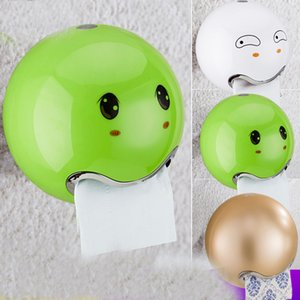1PC Cute Eyes Stickers Portable Cute Durable Wall Mounted Bathroom Paper Roll Holder Toilet Tissue Holder ZM